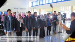 Rektor Lantik 100 Pejabat Organisasi Kemahasiswaan