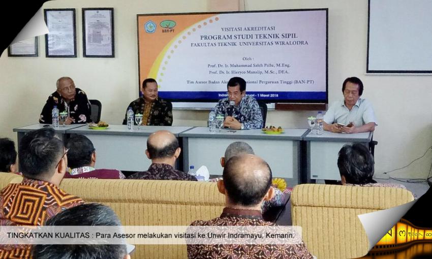 BAN-PT Visitasi Akreditasi Prodi Teknik Sipil