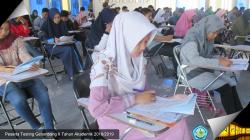 Testing Seleksi Penerimaan Mahasiswa Baru Gelombang II