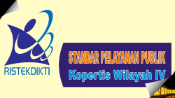 Standar Pelayanan Publik Kopertis Wilayah IV
