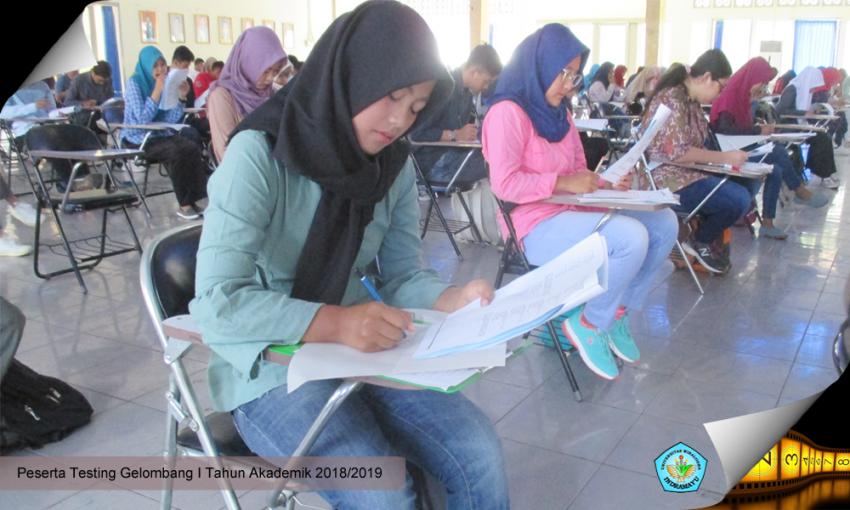 Testing Seleksi Penerimaan Mahasiswa Baru Gelombang I