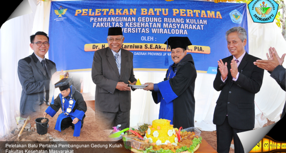Pembangunan Gedung Fakultas Kesehatan Masyarakat