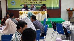 Workshop Manajemen Pengelolaan Jurnal Ilmiah Menggunakan OJS (Open Journal System) Menuju Jurnal Terakreditasi