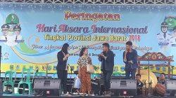 Universitas Wiralodra Ikut serta Meriahkan Peringatan Hari Aksara Internasional Tingkat Provinsi Jawa Barat Tahun 2018 di Indramayu.