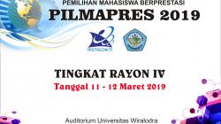 Jadwal PILMAPRES Tingkat Rayon IV 2019