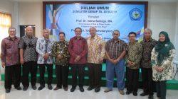Profesor Wong Dermayu Mengisi Kuliah Umum di Universitas Wiralodra