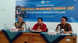 Pelatihan English Skill Improvement Program  (ESIP) Universitas Wiralodra 2019