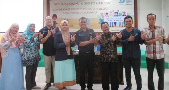 BPS Indramayu Goes To Campus, Sosialisasi Sensus Penduduk 2020