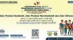Berita Kelulusan Jalur Prestas dan Afirmasi Tahun Akademik 2020/2021