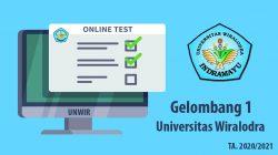 Testing Online Penerimaan Mahasiswa baru Unwir Berlangsung Hari Ini