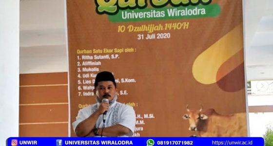 Kegiatan Qurban di Unwir