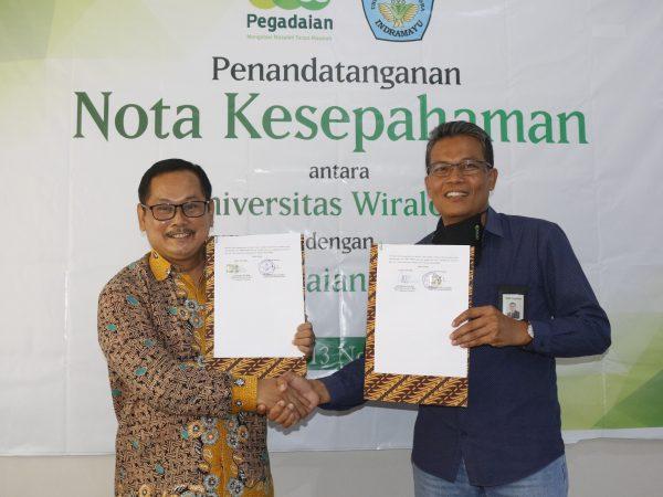 PT. Pegadaian Persero dan Unwir tandatangani Nota Kesepahaman